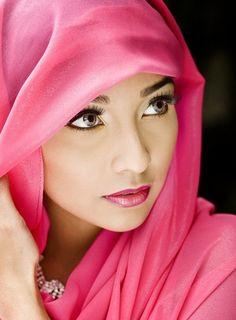 Ladies with veil