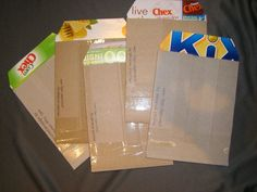 Five Recycled Upcycled Cardboard Mailers shipping by plarnstar, $2.50