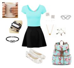 """Back to School Fashion"" by fashionpassiongirlx ❤ liked on Polyvore"