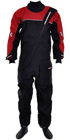 Crewsaver Cirrus Drysuit Including UnderFleece  Dry Bag in BlackRED 6515 Sizes  ExtraLarge >>> Want to know more, click on the image.Note:It is affiliate link to Amazon.