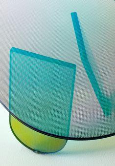 Patricia Urquiola Shimmer table Glas Italia