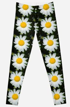 Time to BLOOM!Daisy Power Leggings ~by Jacqueline Cooper~These bright and cheery leggings are bound to turn a frown upside down at the local gym or yoga studio. They can be purchased at REDBUBBLE as leggings, a print and on many other great products.  Just click on the visit link below.  For inspirational quotes, images and mindful reads visit myaspiringsoulfullife.com