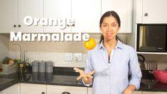 Homemade Orange Marmalade Recipe – Sandy La Pastelera Homemade Orange Marmalade Recipe, Gram Of Sugar, Oranges And Lemons, Plain Yogurt, Orange Recipes, Vanilla Essence, Orange Peel, Few Ingredients, Blood Orange
