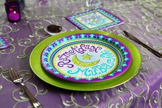 Ramadan Mubarak 10.25 Dinner Plate by LanternCourt on Etsy, $4.95