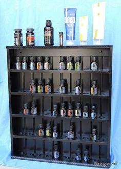Essential Oil DisplayShelf by displayyourshelf on Etsy