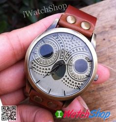 Unisex Owl Watch Women watches Genuine Leather Night Owl Mens Wristwatch via Etsy