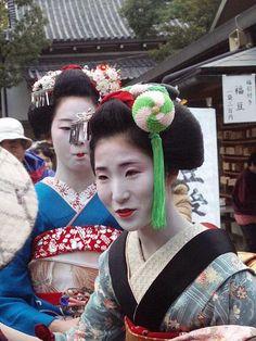 Maiko Hisano- Setsubun kanzashi