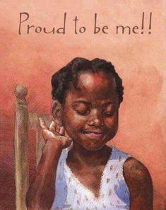 Beautiful little black girl Black Girl Art, Black Women Art, Black Girls Rock, Black Girl Magic, Art Girl, Black Girl Quotes, Black Women Quotes, Black Child, Quotes Girls