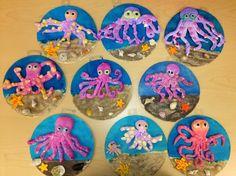Bri-coco de Lolo: Projets d'arts de printemps Poissons Pinterest