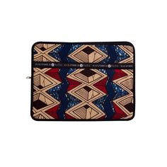 13-inch laptop sleeve Djiji. Offering both style and protection, the Babatunde and Kudu brands have teamed up to bring you this beautifully made, high quality range of laptop sleeves.Stitched in South Africa using traditionalWest African wax-print cotton you will be sure to have the best-dressed laptop in the office! Laptop Sleeves, Printed Cotton, Afro, South Africa, Nice Dresses, Zip Around Wallet, Wax, African, Range