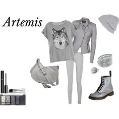 Camp Half Blood - Artemis by animalsc on Polyvore