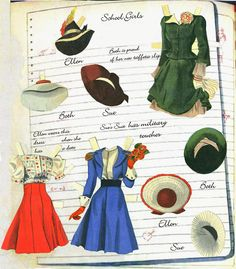 Big Big Cut Out Book pieced together - Bobe Green - Picasa Web Albums * 1500 free paper dolls Arielle Gabriel's International Paper Doll Society paper dolls for my  Pinterest pals thanks *