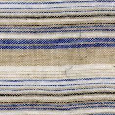 tan with blue/white multi stripe image loading...