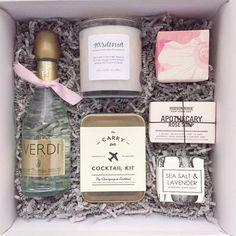 Custom bridesmaid gift by Teak & Twine
