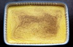 Egg Custard Recipes, Baked Egg Custard, Custard Pudding, Egg Recipes, Cooking Recipes, Easy Custard Recipe, Egg Pudding Recipe, Quick Recipes, Salad Recipes