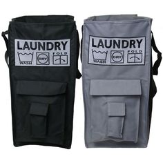 Heavy Duty Free Standing Canvas Laundry Bag Part 17