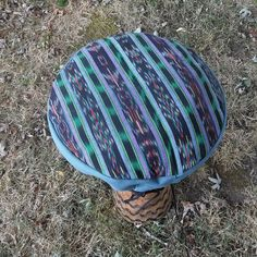 djembe drum cover 14 inch / drum head cover / 14 inch / blue green purple black