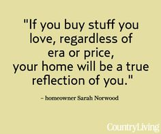 Quotables:+Why+We+Collect  - CountryLiving.com