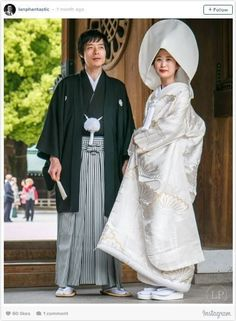 Japanese Wedding 15 Traditional Wedding Outfits From Around The World – Fubiz Media Traditional Wedding Attire, Traditional Dresses, Traditional Japanese, Traditional Weddings, White Tuxedo Wedding, Costume Ethnique, Japanese Wedding, Swedish Wedding, Wedding Costumes