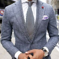 Men's style inspiration - suits - ties - pocket squares | @iswmenswear iswmenswear.com