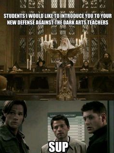 Oh how different things would have been! Harry Potter | Dumbledore | Supernatural