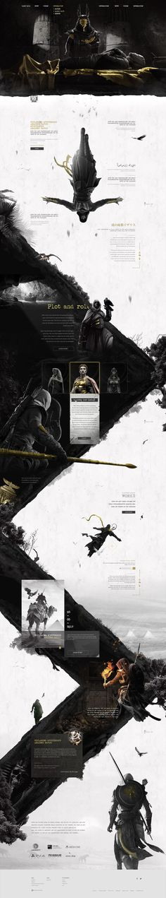 刺客信条起源|网页|游戏/娱乐|佳大大丶 - 原创作品 - 站酷 (ZCOOL)