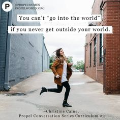 "Join a Propel Chapter and explore the Propel Conversation curriculum on ""Growth"" together!"