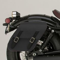 Saddlebag for the Bolt. Small...but sleek