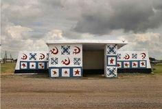 Soviet Bus Stops by Christoper Herwig