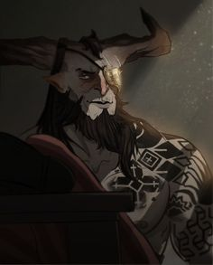 The Iron Bull (Loved the concept Bull)