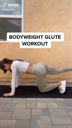 Gym Workout For Beginners, Gym Workout Tips, Fitness Workout For Women, Workout Challenge, Workout Videos, At Home Workouts, Easy Fitness, Leg Butt Workout, Butt Workouts