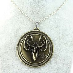 GAME OF THRONES necklace House Stark Winter Is Coming