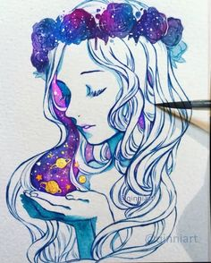 """104.8k Likes, 1,480 Comments - Qing Han (@qinniart) on Instagram: """"⭐️ Throwback! Cause now that Instagram has 1 minute videos I wanted to put a full version up here,…"""""""