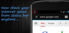 New Android Application : Internet Speed Meter v1.4.7 - Free Mobile Applications,Softwares,Widgets !!