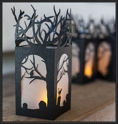 Halloween - Lantern Decoration Free Papercraft Download - http://www.papercraftsquare.com/halloween-lantern-decoration-free-papercraft-download.html