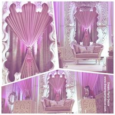 Morrocan inspired Reception Decor. With the modern twist