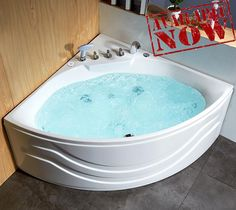 Jacuzzi Bathtub, Soaking Bathtubs, Hangzhou, Corner Bathtub, Baths, Showers, China, Outdoor Decor, Home Decor