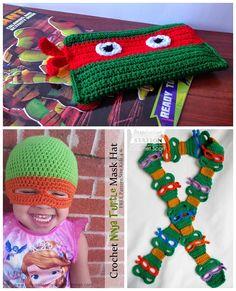 free-ninja-turtle-crochet-patterns