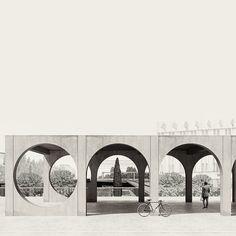 Pedro Duarte Bento · ÁGORA - Proposal for Plovdiv Square Arcade Architecture, Architecture Drawings, Classical Architecture, Landscape Architecture, Interior Architecture, Rendering Architecture, Architecture Diagrams, Architecture Portfolio, Gate Design