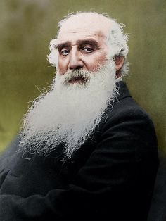 Camille Pissarro (1830-1903) french impressionist, colorized by painters-in-color