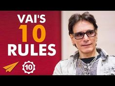 """Steve Vai's Top 10 Rules for Success"" — Video 