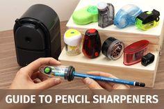 Guide to Pencil Sharpeners - JetPens.com