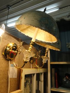 DIY:: Vintage Globe Lights!