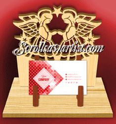 Scroll Saw Patterns :: Handy items :: Business card holders :: Business card stand - angels Letter Ornaments, Globe Ornament, Business Card Holders, Business Cards, Faith In Love, Scroll Saw Patterns, Snow Globes, Dangles, Place Card Holders