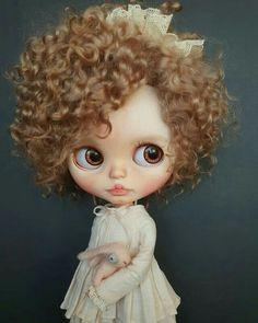 Ooak Dolls, Blythe Dolls, Art Dolls, Modern Pop Art, Living Dolls, Creepy Dolls, Little Doll, Miniature Fairy Gardens, Custom Dolls