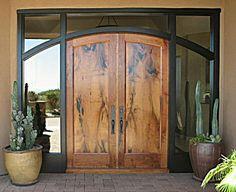 Great door ... makes a fantastic entrance statement :)