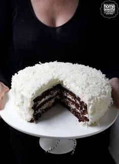 Hit the Sweet Spot – Chocolate & Coconut Layered Cake | blog.domayneonline.com.au