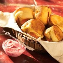 Popovers with Strawberry Butter from Smucker's®