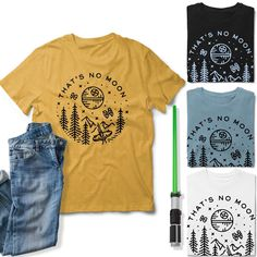 🌙 Shop link in bio! . . . . . #disneyshirts #enchantedkingdomglam #disneyfamilyvacation #starwars #disneyworld #tatooine #ootd #disneyfashion #babyyoda #galaxysedge #riseoftheresistance #mickeymouse #disneychristmas #customshirts #thatsnomoon #shopsmall #veteranowned #mainstreetusa disneyland #darthvader #stormtrooper