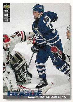 BENOIT HOGUES 1995-96 TORONTO MAPLE LEAFS Upper Deck NHL Collector's Choice 1995-1996 - Collection preview - laststicker.com Florida Panthers, Buffalo Sabres, San Jose Sharks, Edmonton Oilers, Vancouver Canucks, Toronto Maple Leafs, Montreal Canadiens, Upper Deck, Chicago Blackhawks